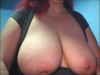 Wife With Huge Melons (naturall44dd) Showing Her Proud