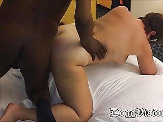 Cuckold Wife Fucks 3 Bbcs Hubby Watches
