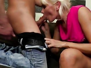Hungry Mother Seduced By Lucky Young Son