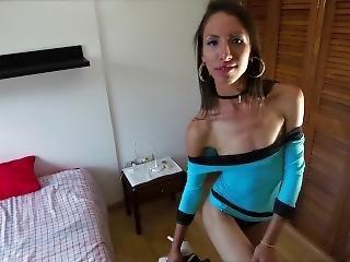 Sex Activist Strips Sexy Blue Dress To Demand Respect Women