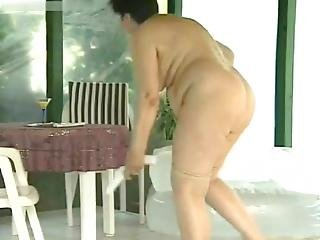 Weekend Grannys Vicky And Her Friend In A Country House Pt 2