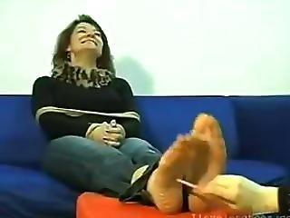 (ilovelongtoes) Foot Tickling, F/f