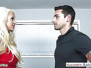 Gorgeous Blondes Carmen Caliente And Courtney Taylor Fucking