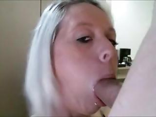 Hot Milf Dildo Blowjob