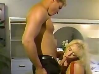 Blonde Bitch Slams Fuck Toy Up Hunk S Ass