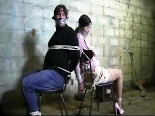 Bondage, φετίχ, δεμένη