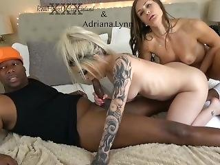 Adriana Lynn First Bbc Ever! Chaturbate.com Realhousewifeoffinland