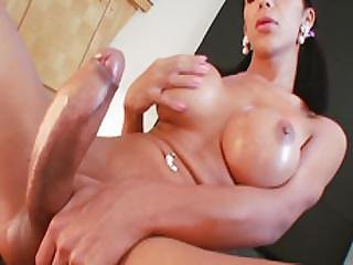 Tgirl Stripper Sabrina Suzuki Cant Wait To Cum