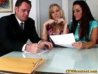 Cfnm Babe Alana Evans Get Little Facial Domination Fetish