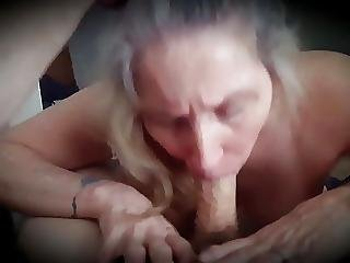 Sexy Older Milf Sucks And Swallows