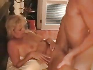 Mature Blonde Hotwife Barebacked By A Stranger