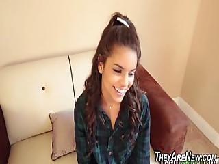 Ebony Teen First Timer