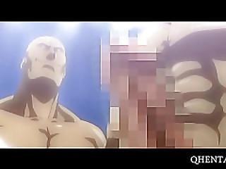 Hentai Beauty Giving Blowjob To A Wrestler