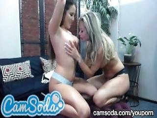 Hot Milf Showing Amazing Teen Babe How To Eat Pussy At Camsoda