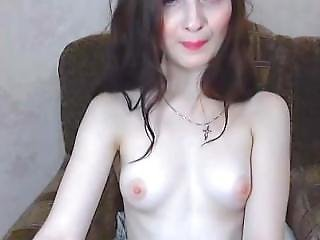 Russian Strumpet Has A Nice Perky Set Of Tits