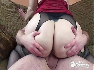 Big Booty Bitch Naomi St Claire Rides A Little Dick