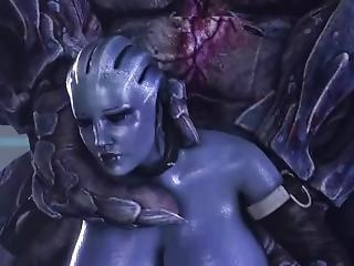 Mass Effect Liara Gets An Office Visit