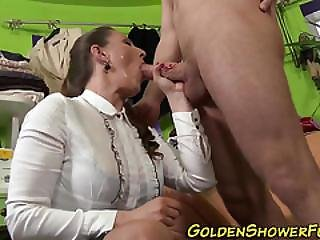 Creepy Slut Jizz Piss