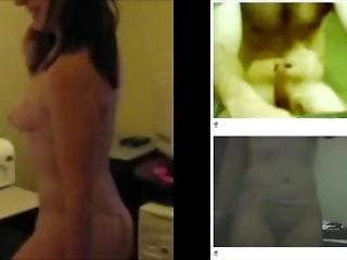 Cute Girlfriend Dared To Strip On Webcam