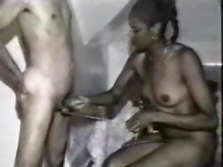 preta, ébano, fetishe, punheta, interracial, masturbação, vintage