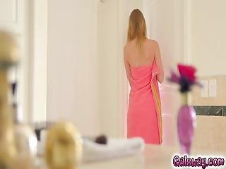 Chloe Places Her Cell Phone In The Bathroom To Film Gina