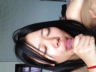 amateur, asiatisch, chinesisch, universität, lecken, muschi, muschi lecken, sex, sexvideo, kleine titten, studentin, Jugendliche