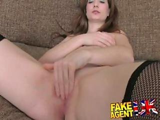 Hot Uk Amateur Gets Fingered Rimmed And Fucked On Casting Couch