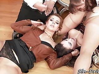 Blowjob, Cumshot, Deepthroat, Fetish, Glamour, Hardcore, Messy, Piss, Pissed On, Pissing