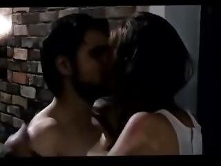 Esha Gupta Hot Kissing And Bed Scenes