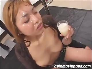 Compilation Drinkers Semen Asian 4