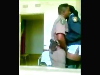 African, Kissing, Police, Prison, Sex