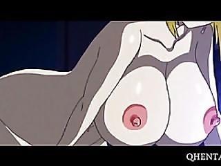 Big Tits Anime Blonde Masturbates And Squirts