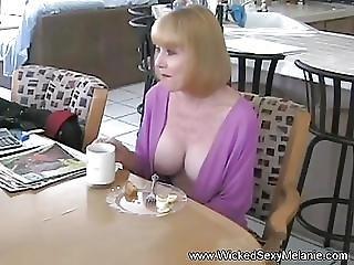 Amadores, Broche, Avó, Milf, Sexy