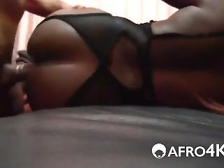 Big White Cock In Black Pussy