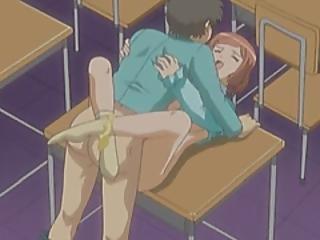 anime, gros téton, dessin animé, nique, hentai, école, professeur, Ados, cartoon