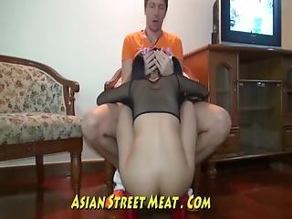 Whopping Tits Dances For Fun In Bangkok