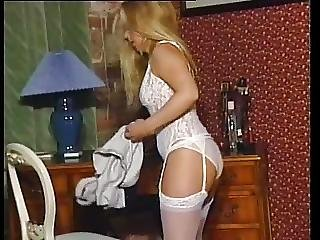 Rare Susie Haines Undresses And Plays