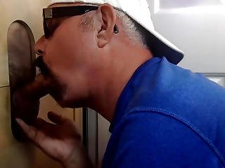 1st Time Oral Stimulation At The Gloryhole