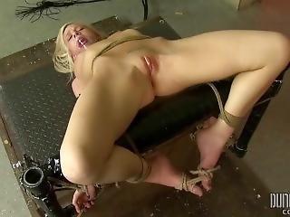 Skylar Green - Slim Blonde Teen Bdsm - Massively Vibrated Pussy