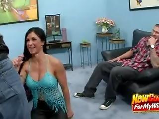 Cock Sucking Busty Wife Jewels Jade