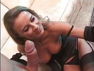 Really Nice Blonde In Black Stockings Fuck 2 Guys?s=4