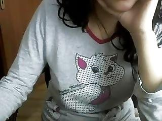 Turkish Young Woman Flashes Tits And Pussy