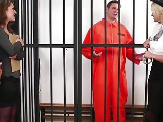 Brit Slavemaster Cfnm Police Honey Abase Prisoner