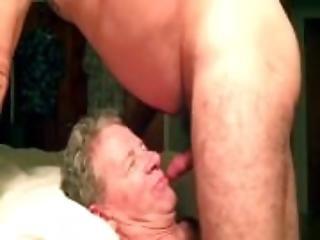 Skull Fucking and Cum Facial For a White Trash Faggot Cocksucker