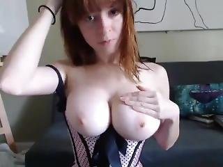 The Young Woman Boasts Of Her Boobs