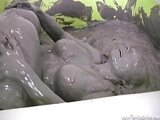 Horny Mud Bath Girls With Mindi Mink