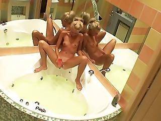 Legal Age Teenager Bathtub Spycam1