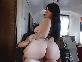 Black Haired Pawg Riding Dick