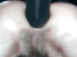 Kiwi Lisa Struggling With Black Cock