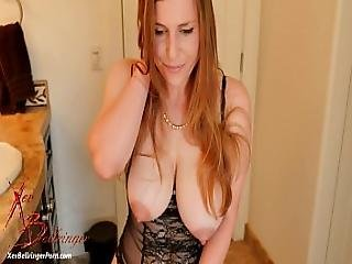 Making Your Slutty Mother Stroke Your Cock